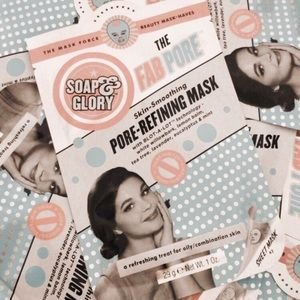 15 soap & glory the fab pore pore-refining masks